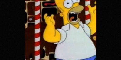 En 1991, Homero soñó con una tierra de chocolate. Foto:vía FOX