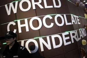 El Parque de Chocolate se creó en Shanghai en 2011. Foto: Getty Images