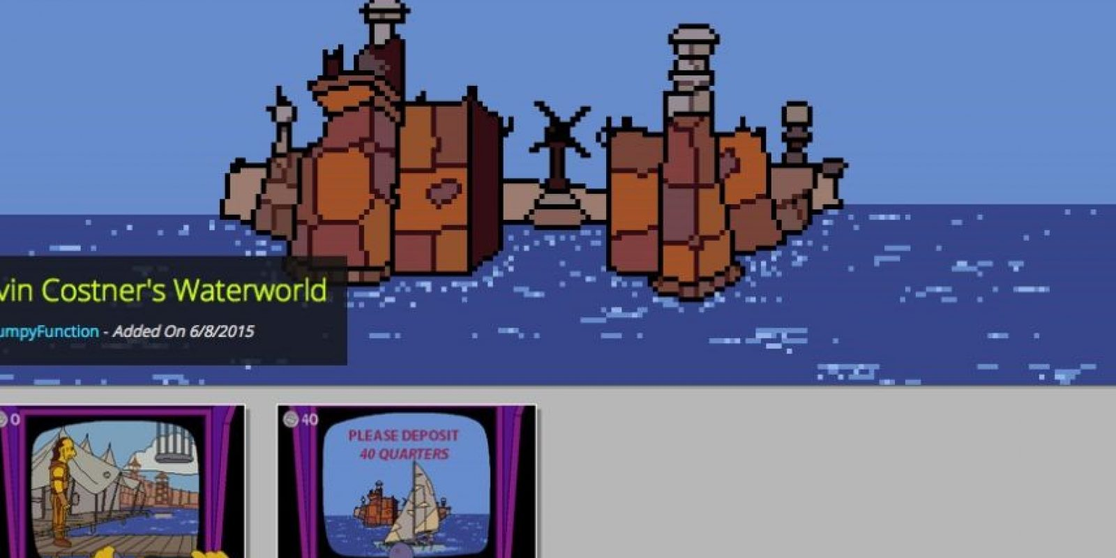Kevin Costner's Waterworld Foto: GameJolt