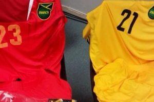 El uniforme de Jamaica. Foto:twitter.com/CA2015