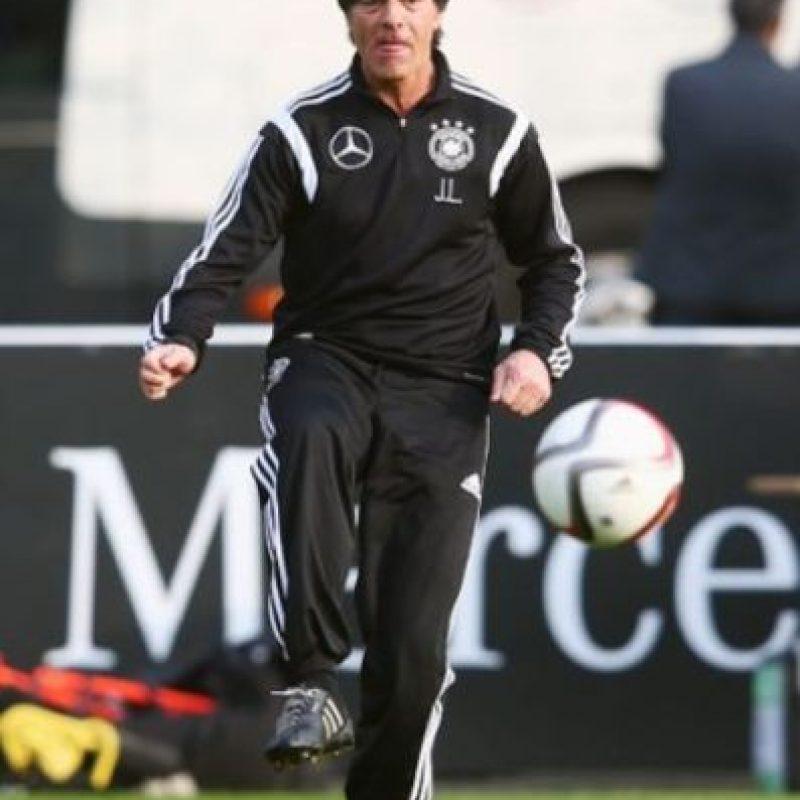 """Después del Mundial de Alemania 2006, Klinnsman dejó el cargo y Low se convirtió en entrenador de la """"Mannschaft"""". Foto:Getty Images"""