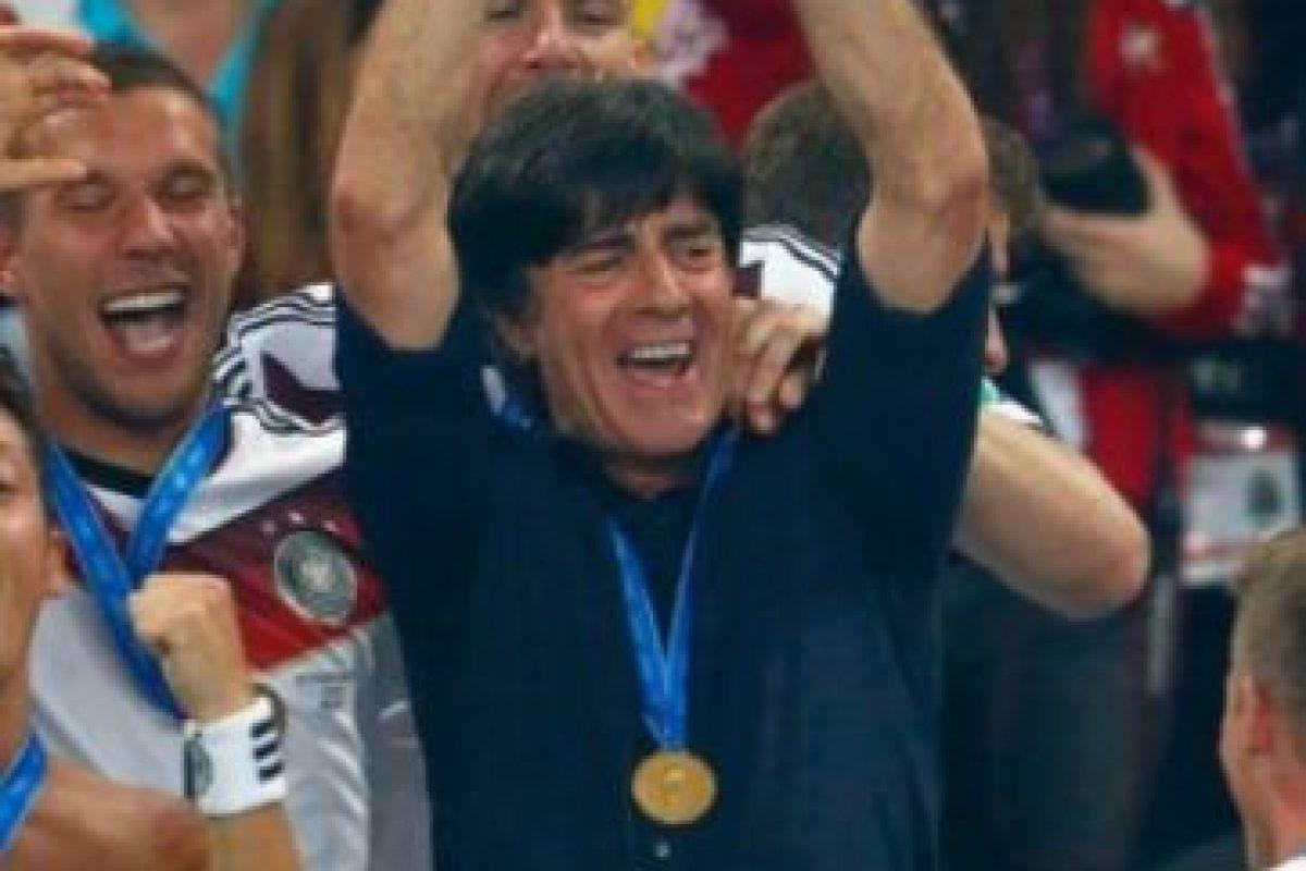 Y en Brasil 2014 logró hacer campeón del mundo a Alemania tras 24 años de sequía. Foto:Getty Images