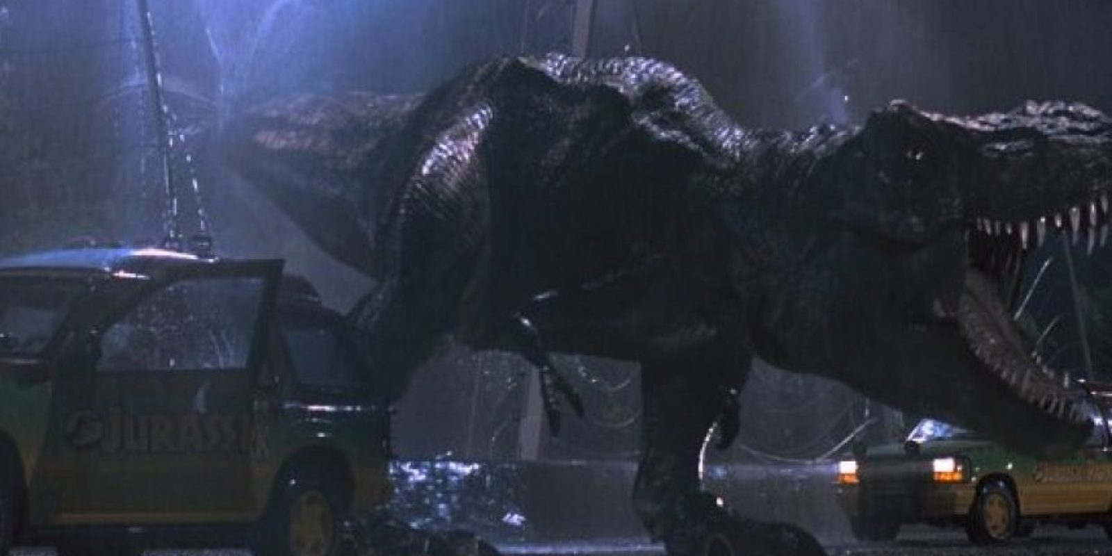 "El gran villano carnívoro que se comió a varios personajes de ""Jurassic Park"". Foto:IMDB"
