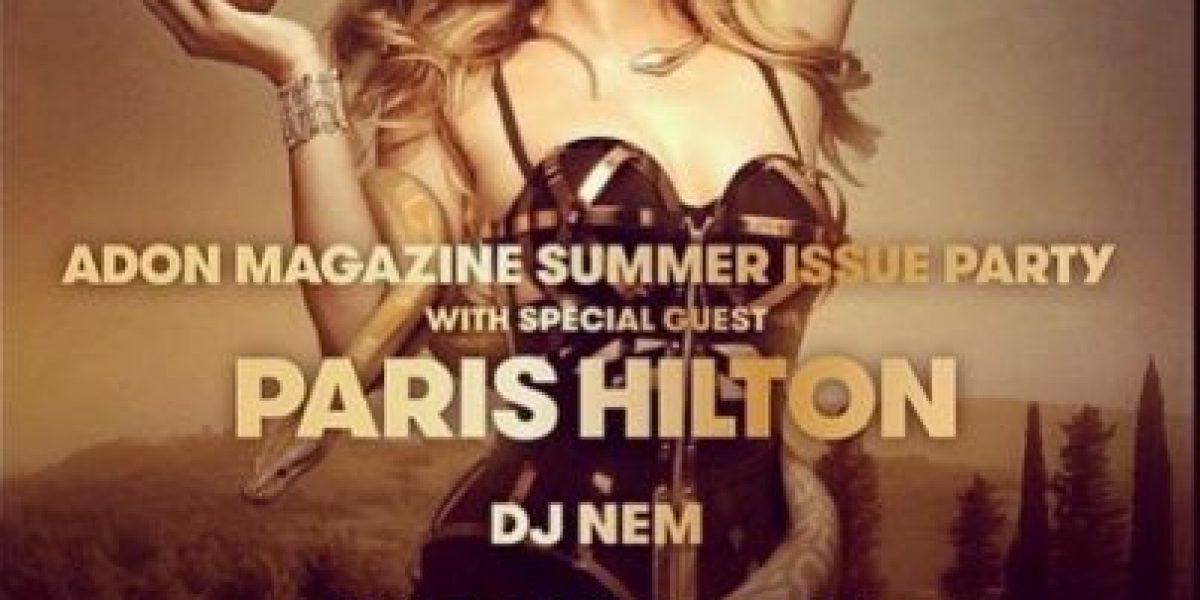 Paris Hilton posa como personaje bíblico para una revista