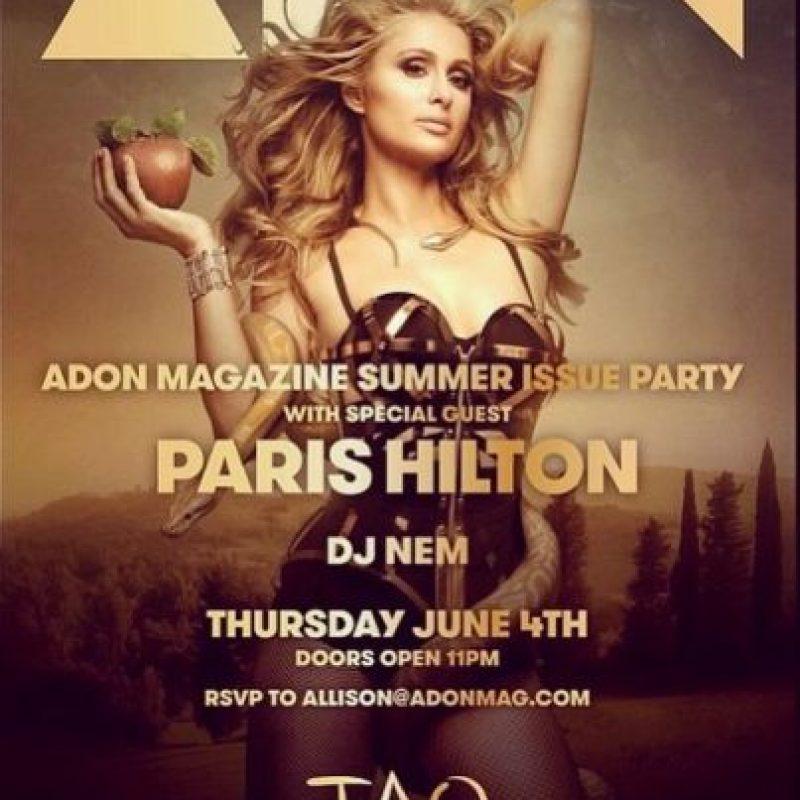 Paris posó para la revista Adon. Foto:Instagram/ParisHilton