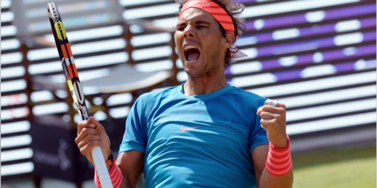 Rafael Nadal no sube ni con victorias