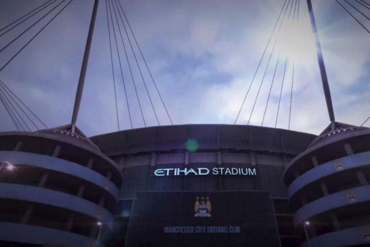 Etihad Stadium de Manchester, Inglaterra. Foto:EA Sports