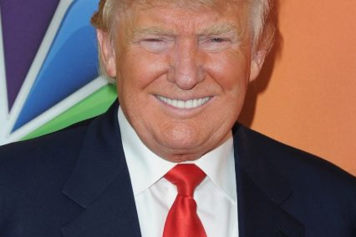 Trump entró a la contienda como aspirante del Partido Republicano Foto:Getty Images