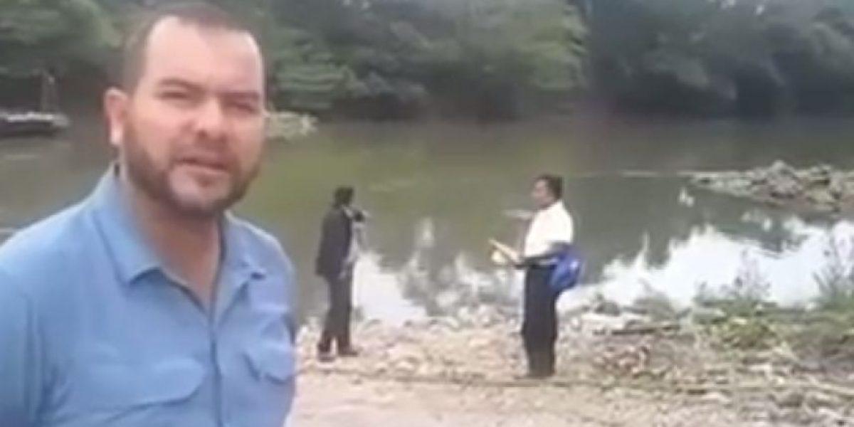 VIDEO. Empresa acepta contaminación en el río La Pasión