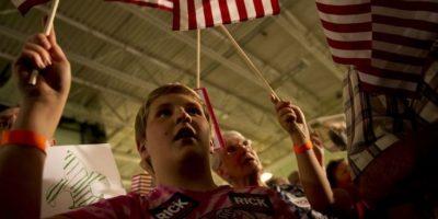"""""""Las familias trabajadoras no necesitan otro presidente ligado a grandes gobiernos o a grandes cantidades de dinero"""". Foto:Getty Images"""