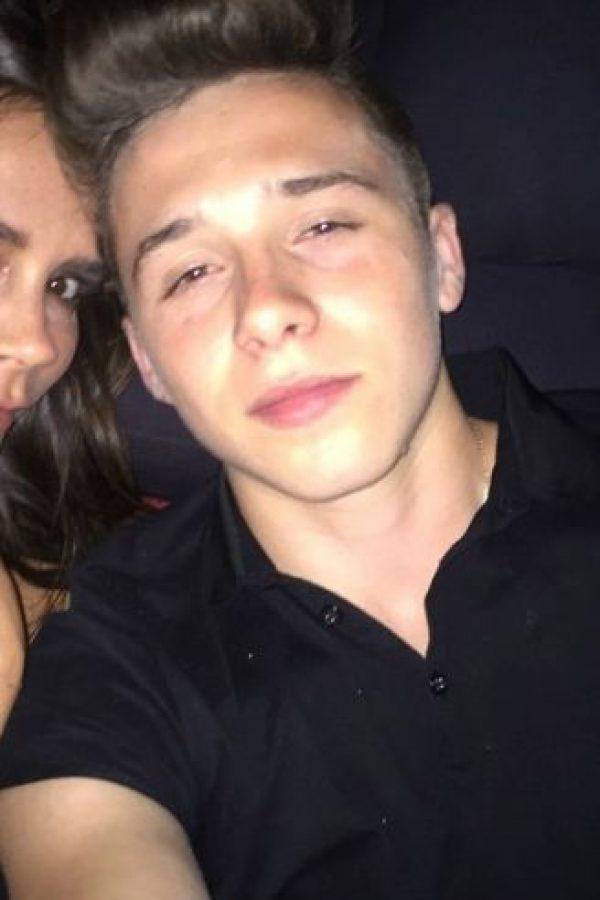 Y así luce su hijo a los 16 años. Foto:vía instagram.com/brroklynbeckham