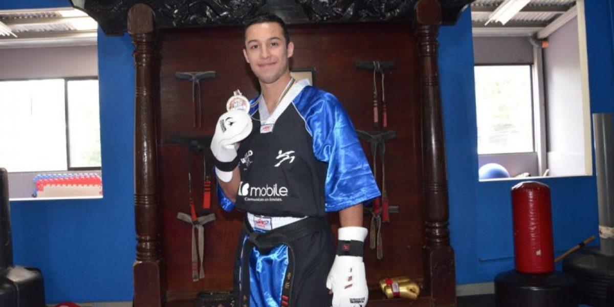 Conoce al primer guatemalteco en ganar una medalla en kenpo karate en Europa
