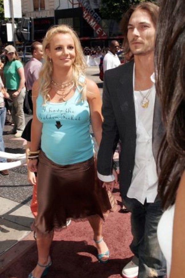 En julio de ese mismo año, Britney y Kevin anunciaron su compromiso y el 18 de septiembre se casaron. Foto:Getty Images