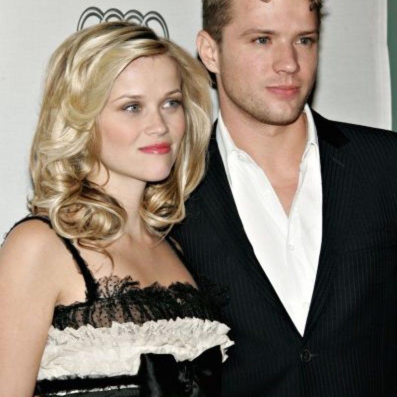 En ese momento, Ryan Phillippe era el esposo de Reese Whiterspoon y padre de Ava y Deacon Phillippe Foto:Getty Images