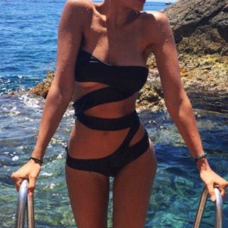 """La actriz de la serie """"From Dusk till Dawn"""" eligió los paisajes de Italia para vacacionar. Foto:vía instagram.com/eizagonzalez"""