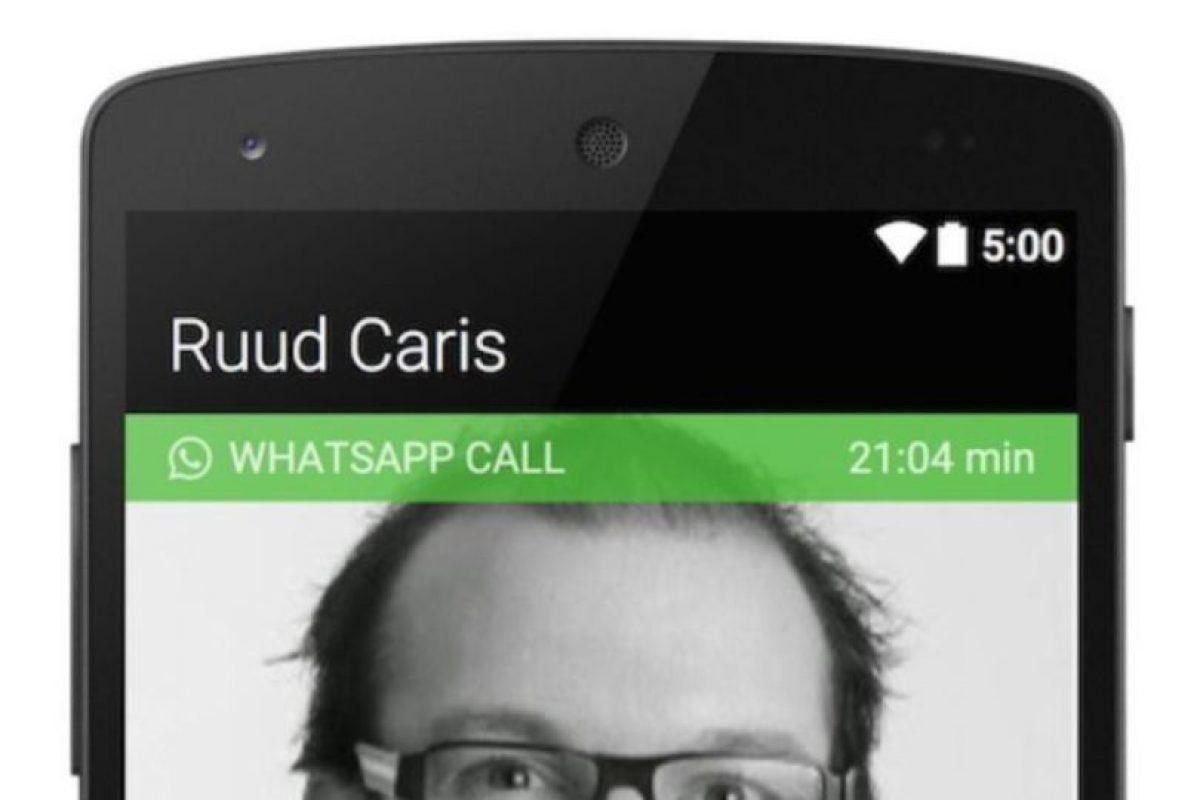 8- Usuarios reportan que la calidad de las llamadas es buena, aunque la voz tiene ligeros retrasos, por lo que deberán tener paciencia Foto:Tumblr