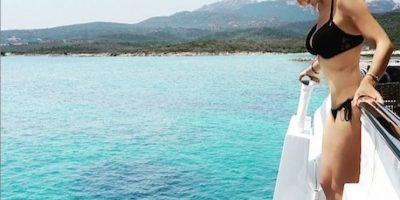 Thalía presumió figura en bikini durante su viaje a Italia