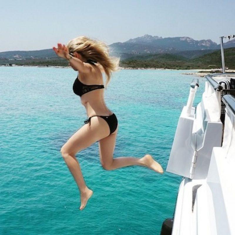 La cantante presumió sus vacaciones de verano en Italia Foto:Instagram/Thalia