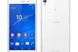Sony Xperia Z3 tiene un precio de 500 dólares. Foto:Sony