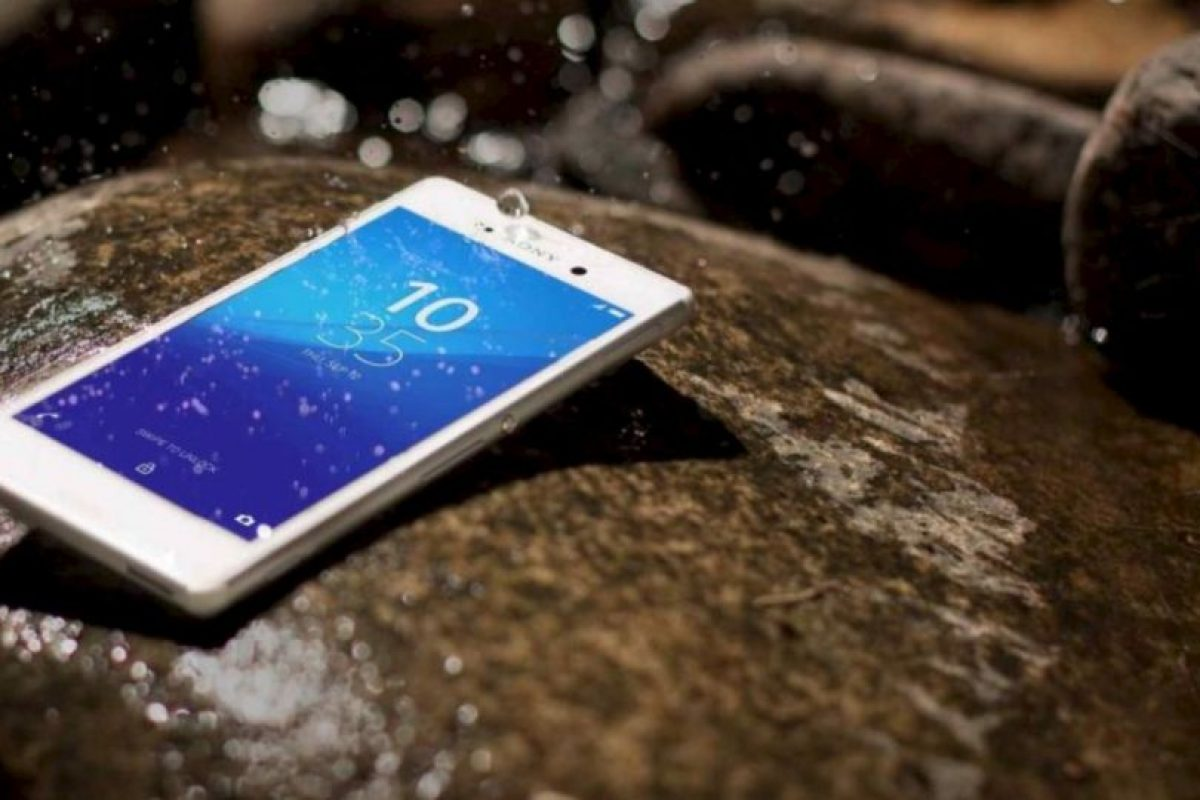 3- Sony Xperia Z4 Aqua. Foto:Sony
