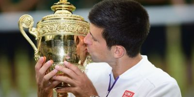 Djokovic venció en cuatro sets a Federer. Foto: Getty Images