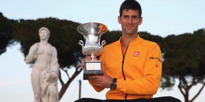 Djokovic obtuvo el título ante Federer. Foto:Getty Images
