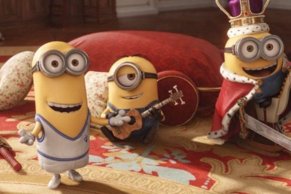 """Los """"Minions"""" son pequeñas criaturas de color amarillo que han existido desde el principio del tiempo. Foto:IMDb"""