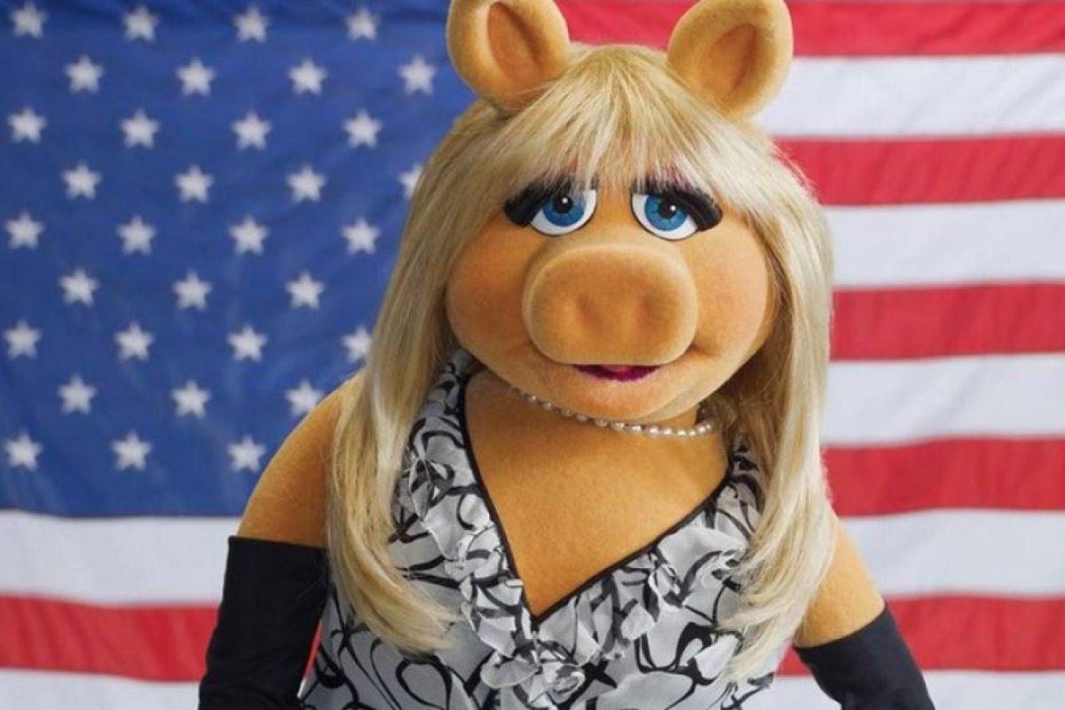 "¿Qué dirá ""Miss Piggy"" ante esta declaración? Foto:Facebook/MissPiggy"