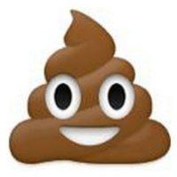 """Usuarios debaten si se trata de """"popo"""" o en realidad es helado de chocolate. Foto:emojipedia.org"""