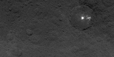 El misterioso astro fue descubierto en 1801 por el astrónomo Giuseppe Piazzi Foto:NASA