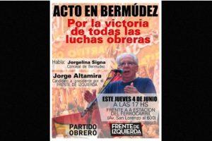 """Jorge Altemira – """"Frente de Izquierda y los Trabajadores"""" Foto:facebook.com/jorge.altamira.ok"""