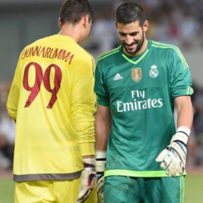Fue portero del Espanyol B, Cádiz, Cartagena y Espanyol de Barcelona antes de volver a Madrid. Foto:Getty Images