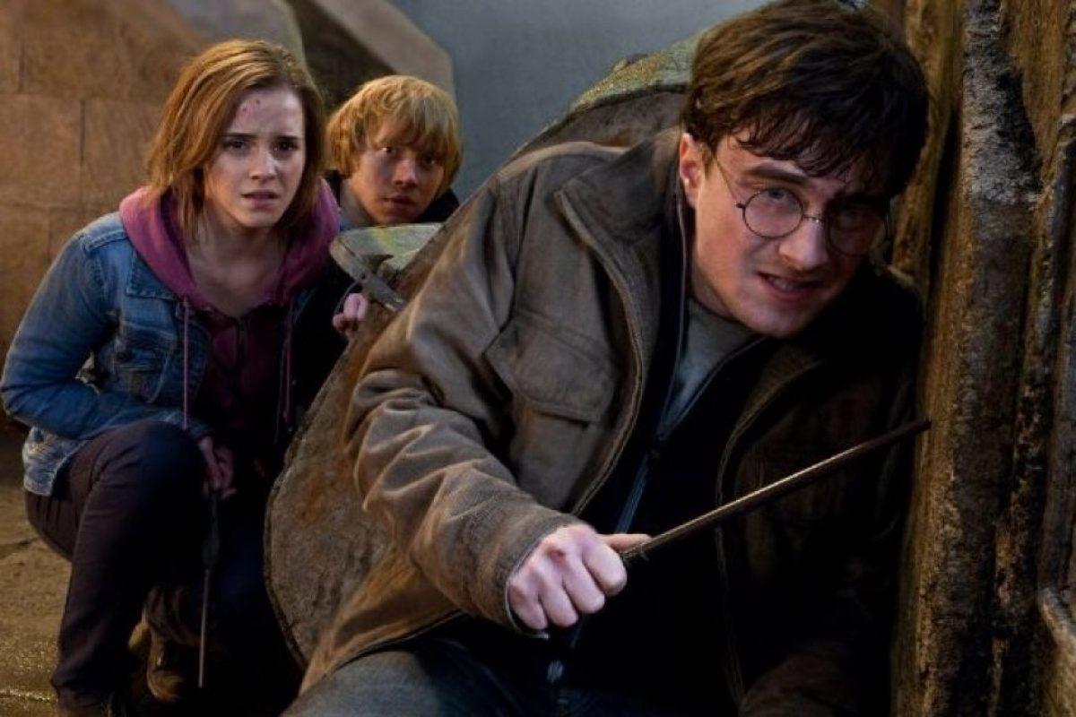 """Y al final de la historia """"acepta morir"""" en manos de """"Voldemort"""". Foto:IMDb"""