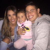 Lo mejor de su vida es la familia. Foto:instagram.com/jamesrodriguez10
