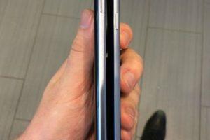 La anchura del Note 5 y el iPhone 6 Plus. Foto:vía androidheadlines.com