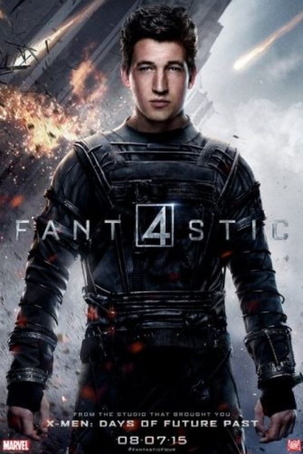 "Miles Teller es ""Reed Richards"" Foto: IMDb"