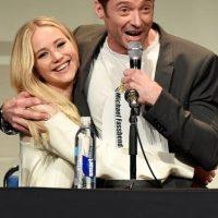 """Por su parte, Hugh Jackman también se despide de esta franquicia y de """"Wolverine"""". Foto:Getty Images"""