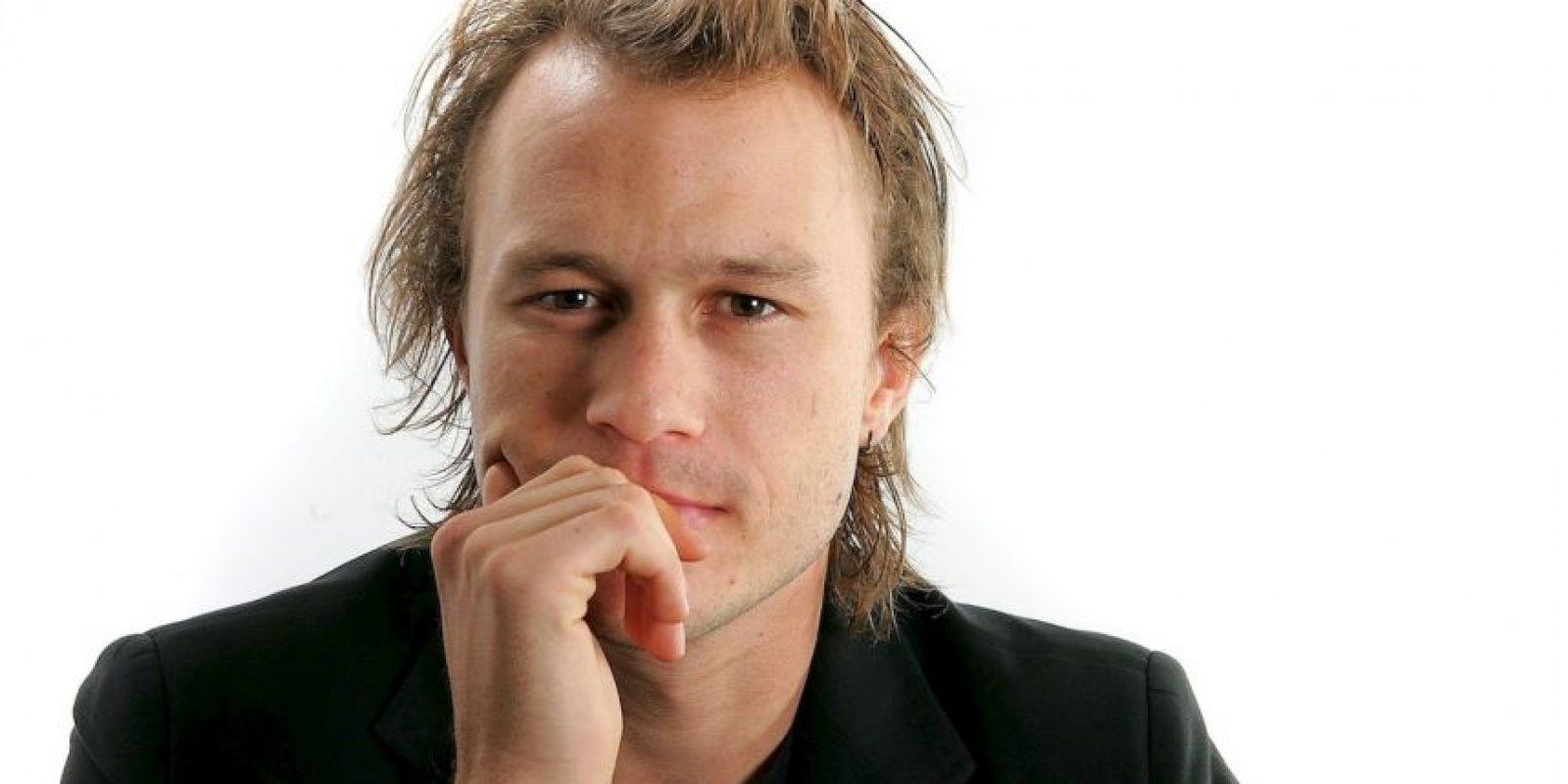 """""""Él es un auténtico sociópata, un payaso de sangre fría, un asesino en serie y el director (Christopher Nolan) me dio rienda suelta"""", agregó. Foto:Getty Images"""