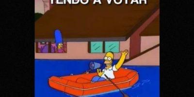 Y por supuesto, no podían faltar los memes Foto:Via instagram.com/explore/tags/elecciones2015/