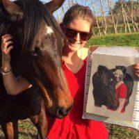 """Ama los caballos y la saga de """"Harry Potter"""" Foto:vía instagram.com/jerryflorence"""
