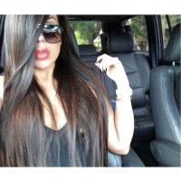 Su admiración hacia la socialité la ha llevado a lucir una cabellera rubia platinada. Foto:Instagram/missale_xo