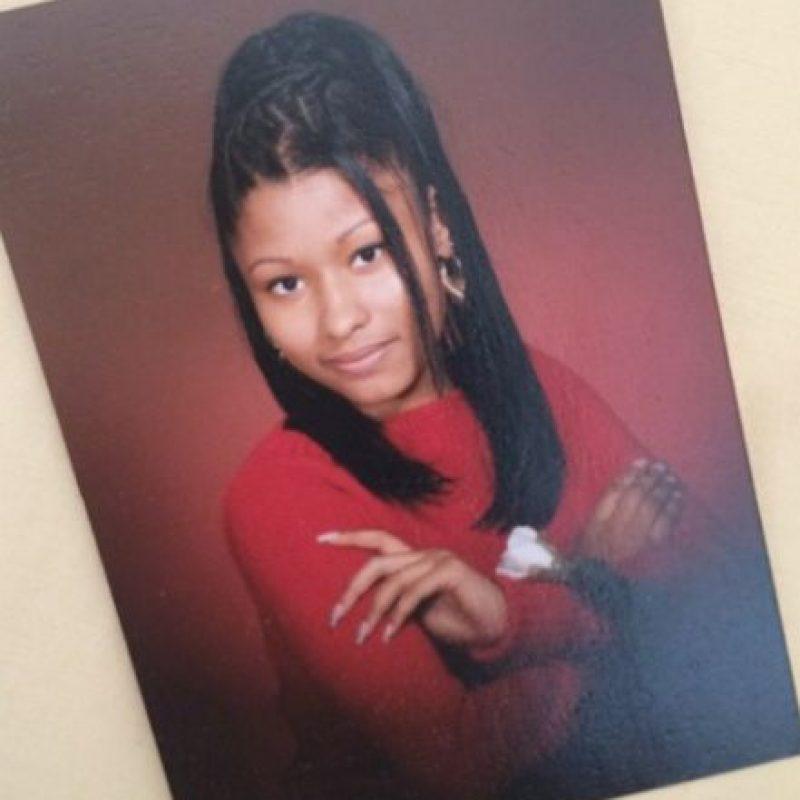 Así era Nicki Minaj en sus años como estudiante Foto:vía instagram.com/nickiminaj