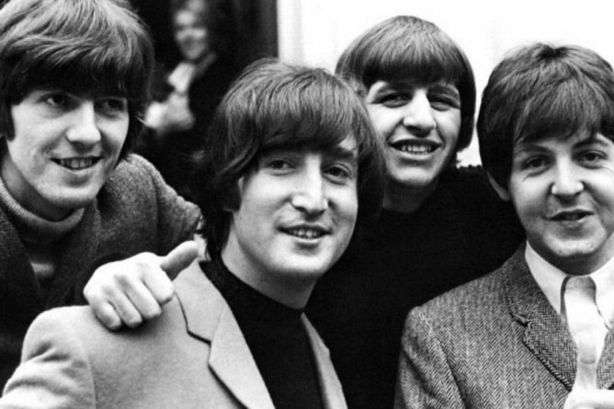 """The Beatles. El famoso cuarteto de Liverpool, una de las bandas más importantes del mundo, es también la más renuente a participar en servicios de """"streaming"""". Foto:Wikicommons"""