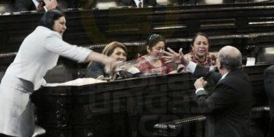 Bochorno en el Congreso por pedido de antejuicio contra Otto Pérez