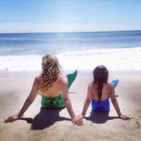 Días anteriores, la cantante latina se convirtió en sirena junto a su primogénita Sabrina Sakaë. Foto:Instagram/Thalia