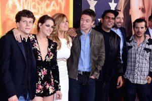 Y todo el elenco de este filme producido por Lionsgate Foto:Getty Images