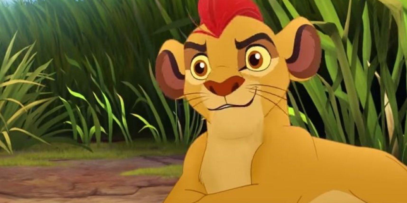 """""""Kion"""" es el otro hijo de """"Simba"""" y """"Nala"""" Foto:YouTube/disneychannel"""