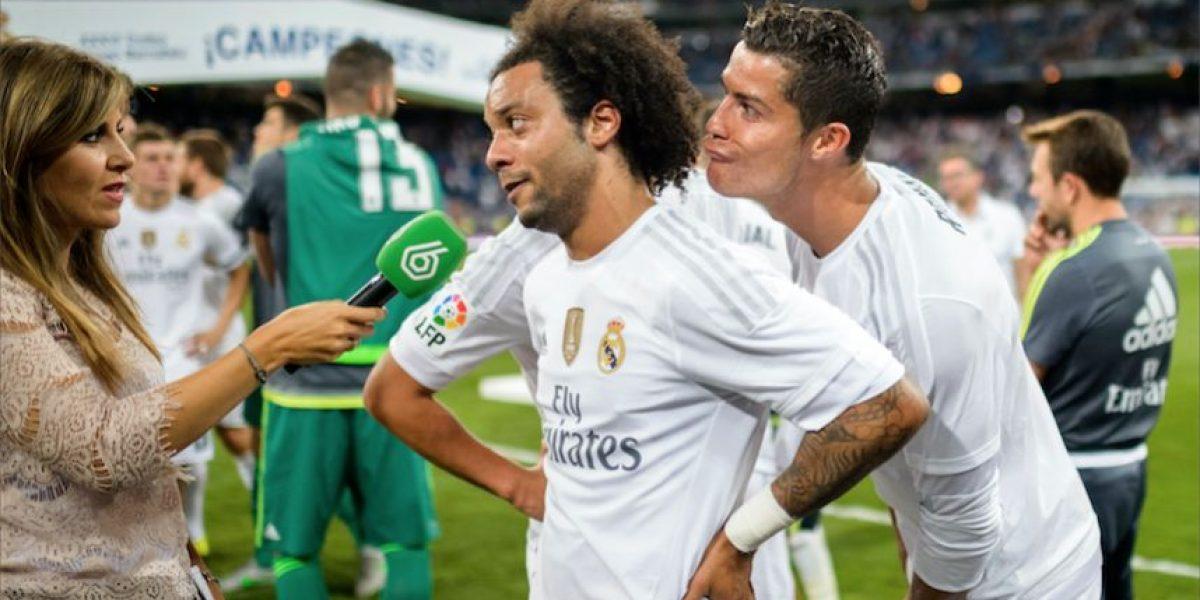 VIDEO. Ronaldo y James le juegan una broma a Marcelo