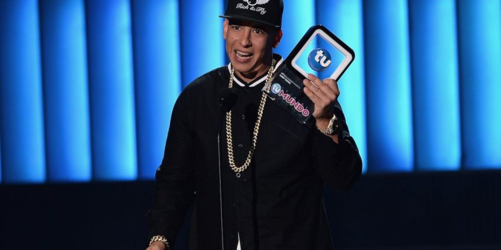 "Daddy Yankee se llevó el premio de ""Artista Urbano Favorito"" y ""Fan Club del Año Foto: Getty Images"