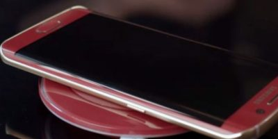 De esta forma se carga de forma inalámbrica. Foto:Samsung